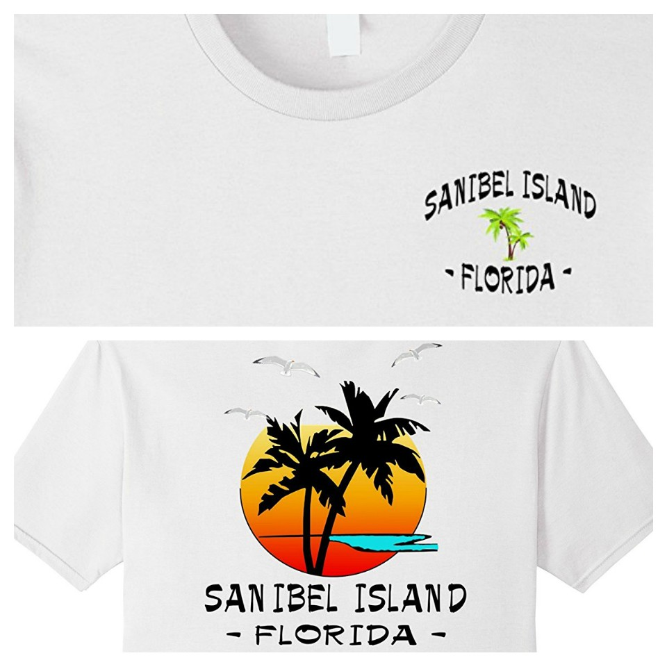 2 sided Sanibel Island, Florida